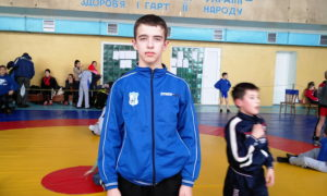 Всеукраїнському турнірі з вільної боротьби пам'яті героя України Сергія Нігояна