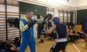 Тренувальні бої в м. Кесег