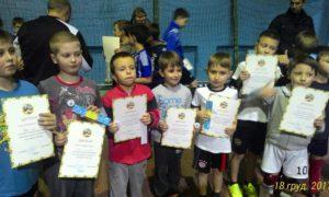 Відділення футболу провело турнір присвячений дню Сятого Миколая