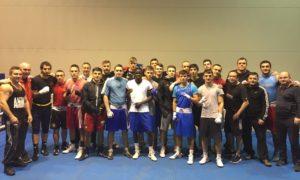 Навчально-тренувальний збір з боксу в Німеччині  ??