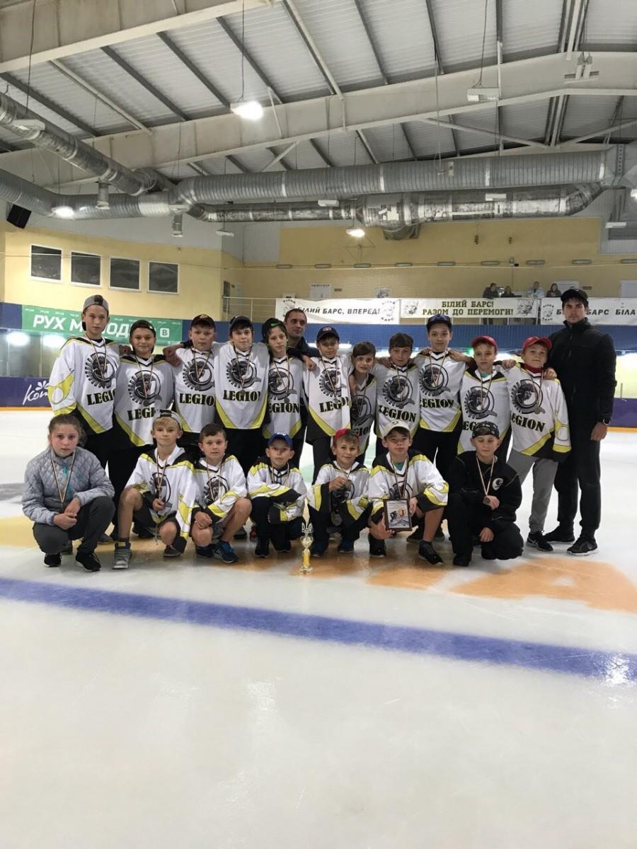 Всеукраїнські змагання з хокею U-13
