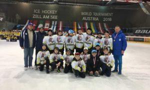 """Вихованці ОДЮСШ  ХК """"Легіон"""" на Ice Hockey World Tournament XXVII"""