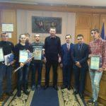 Вітаємо Володимира Антонця з присвоєнням почесного звання «Заслужений тренер України»