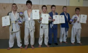 Новорічний турнір з дзюдо серед наймолодших спортсменів Івано-Франківської ОДЮСШ