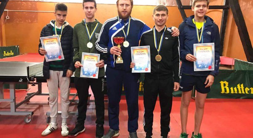 IV тур клубного чемпіонату України з настільного тенісу!