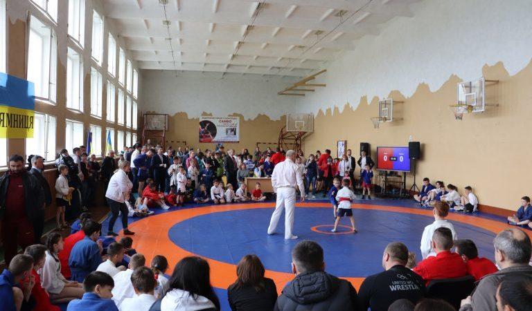 Відкритий турнір з боротьби самбо пам'яті героя АТО Руслана Юрчишина