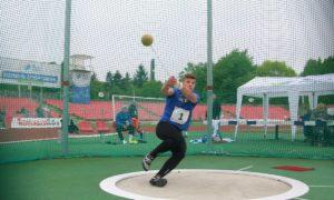 Всеукраїнські змагання з легкоатлетичних метань