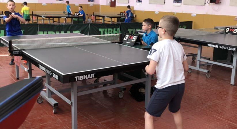 Чемпіонат області з настільного тенісу