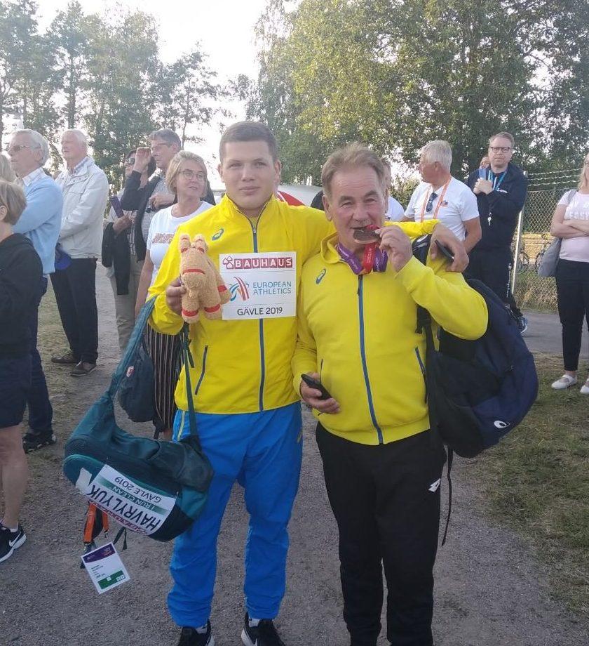 Михайло Гаврилюк здобуває бронзову нагороду на Чемпіонаті Європи U23
