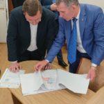Візит президена федерації бадмінтону  України