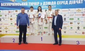 """Всеукраїнський турнір з дзюдо """"Українка"""""""