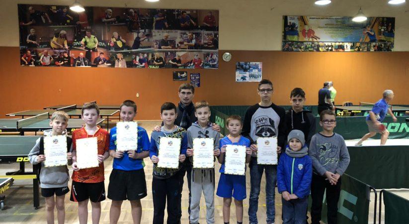 Відбувся турнір з тенісу настільного присвячений дню Св. Миколая.