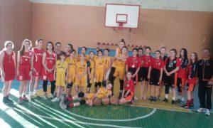 Турнір з баскетболу серед дівчат.