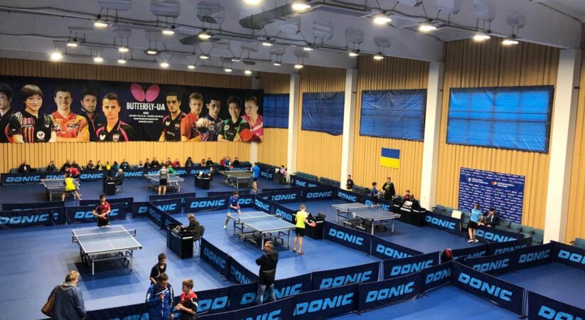 Закінчився чемпіонат України з настільного тенісу