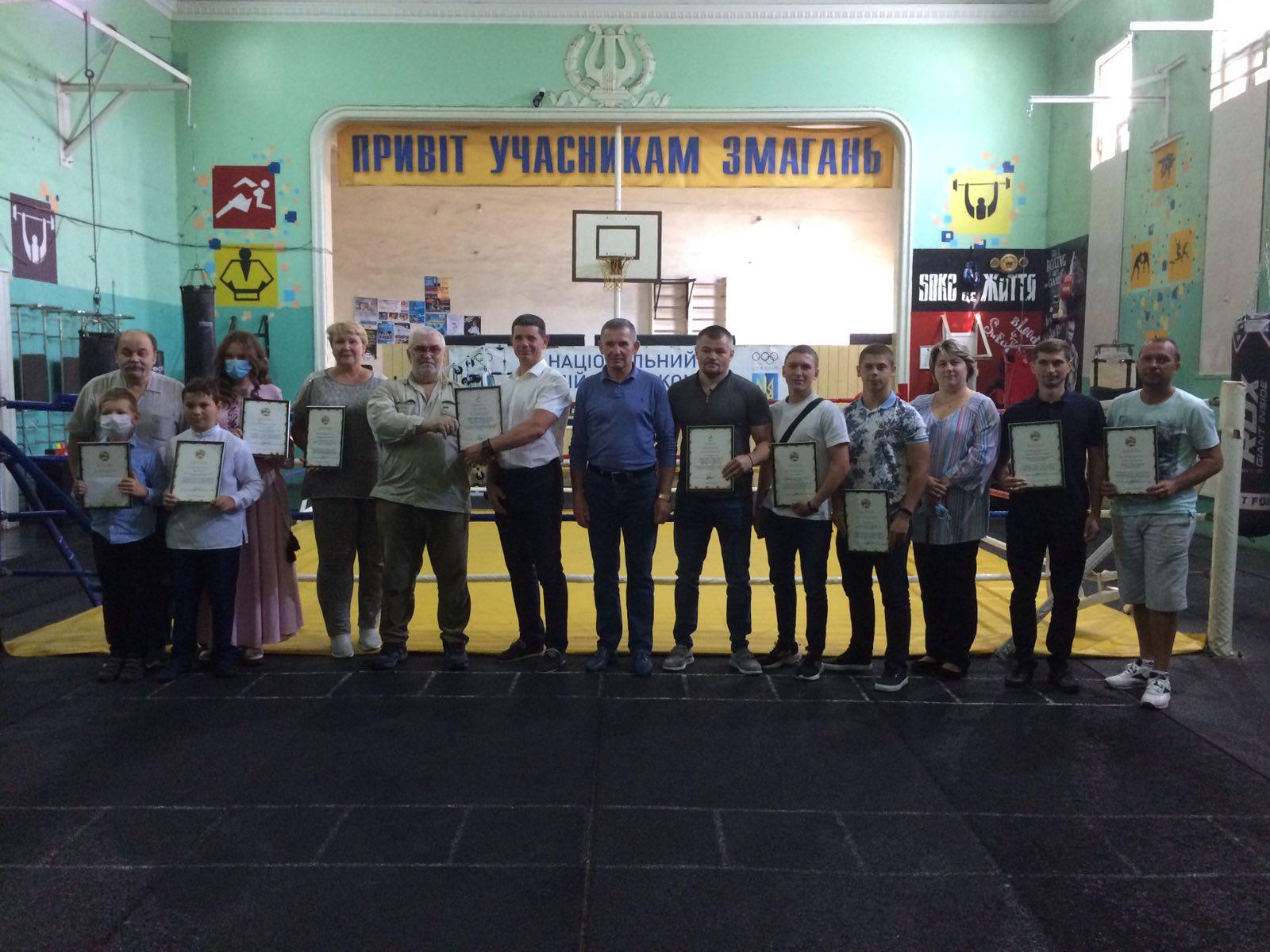Відзначення кращих спортсменів та тренерів-викладачів з нагоди дня фізичної культури і спорту