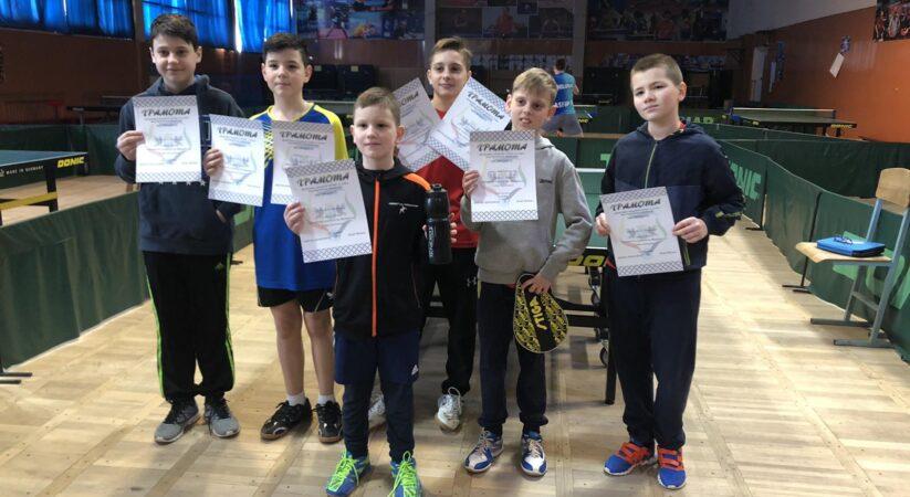 Чемпіонат Івано-Франківська з тенісу настільного