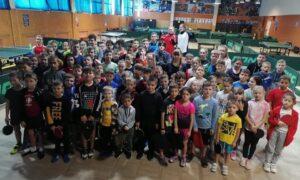 Відкритий клубний турнір серед юнаків і дівчат з настільного тенісу