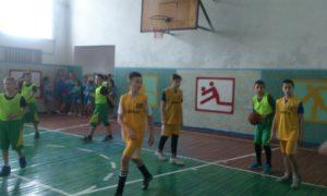 Третій тур чемпіонату області з баскетболу