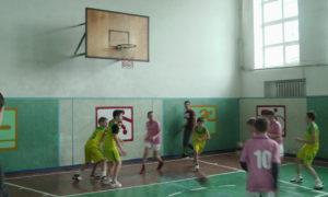 Першість чемпіонату області з баскетболу серед юнаків