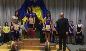 Чемпіонат області з важкоїатлетики