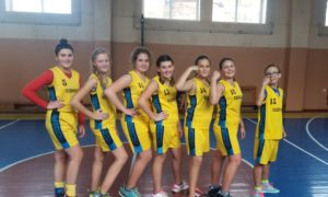 Перше місце у дитячому баскетбольному турнірі серед дівчат 2002-2003 р.н.