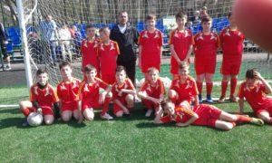 Перемога у черговому турі дитячо-юнацької футбольної ліги