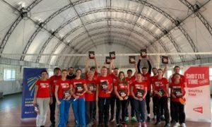 Україна увійшла до Європейської програми розвитку бадмінтону у школах BWF Shuttle Time.