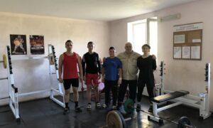 Важкоатлети обласної дитячо-юнацької спортивної школи отримали нове обладнання!