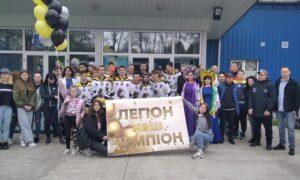 """ХК """"Калуський легіон"""" срібний призер Чемпіонату України з хокею серед юнаків"""
