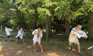 Навчально-тренувальний збір спортсменів відділення дзюдо