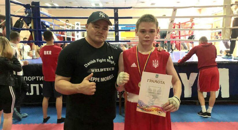 Перемога на чемпіонаті області з боксу серед молоді